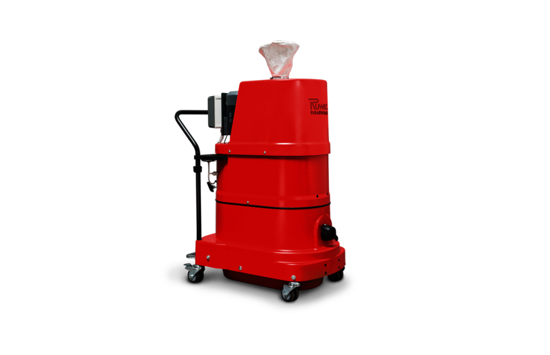 Ruwac Industriesauger mit Drehstromantrieb DS1