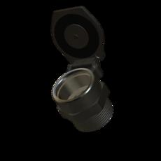 Klappdeckel aus Aluminium 70mm StaubEx Artikel 10723 Ruwac