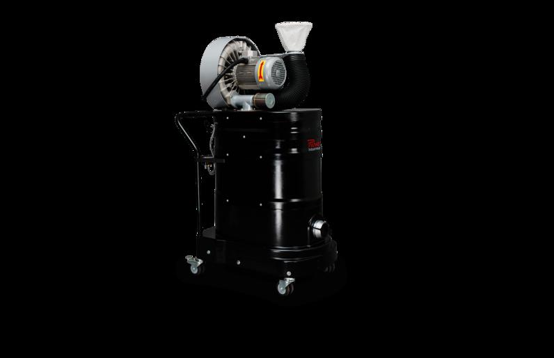 Ruwac Industriesauger DA1 mit Drehstromantrieb direkt für den StaubEx-Bereich.