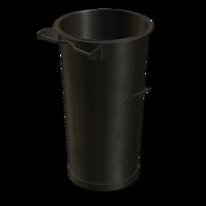 Vorabscheiderbehälter aus Stahl verzinkt Fassungsvermögen 110 Liter Artikel 65287 Ruwac