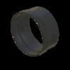 Übergang aus Kunststoff steckbar für Segmentschlauch Artikel 55291 Ruwac