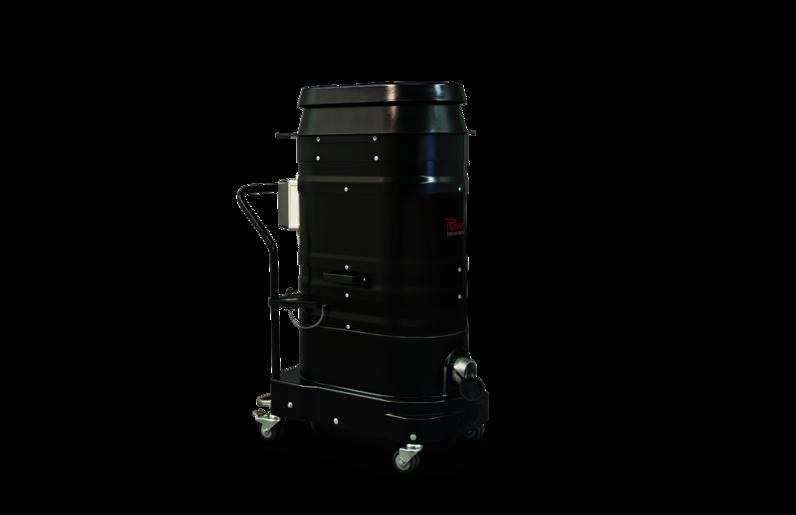Ruwac Industriesauger DS1 Leisesauger mit Drehstromantrieb im StaubEx-Bereich.