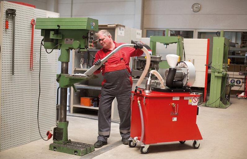 Ruwac Spänesauger SPS250 mit Direktantrieb 3,0 kW