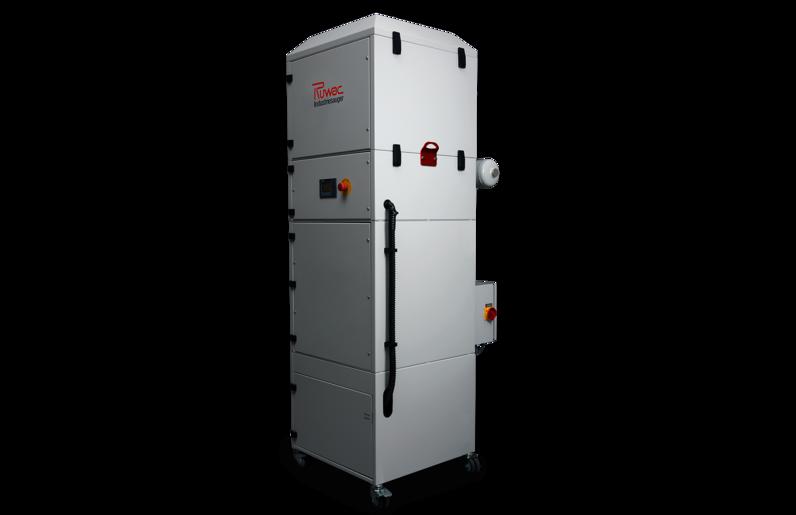 Ruwac Industriesauger DS3 mit Drehstromantrieb für den StaubEx-Bereich