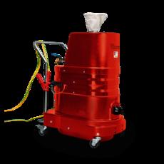 Ruwac Industriesauger DLS1000 mit Druckluftantrieb.