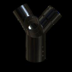 Gabelstueck aus Edelstahl 70mm StaubEx GasEx Artikel 12565 Ruwac