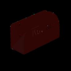 Schlauchhalter aus Stahlblech L 330mm B 123mm H 240mm Artikel 12080 Ruwac