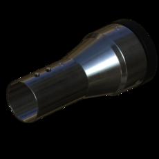 Absaugarm Uebergang aus Edelstahl 50mm StaubEx GasEx Artikel 58916 Ruwac