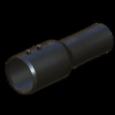 Uebergang in Stahl verzinkt 50mm StaubEx Artikel 15252 Ruwac