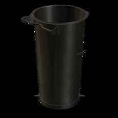 Vorabscheiderbehälter aus Stahl verzinkt Fassungsvermögen 110 Liter Artikel 11003 Ruwac
