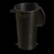 Vorabscheiderbehälter in Stahl verzinkt Fassungsvermögen 110 Liter Artikel 10996 Ruwac