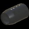 Uebergang in Kunststoff 70mm StaubEx GasEx Artikel 15255 Ruwac