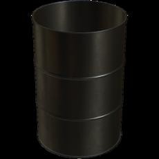 Vorabscheiderbehälter in Stahl verzinkt Fassungsvermögen 200 Liter Artikel 10997 Ruwac