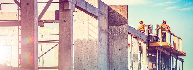 Ruwac header zur Branche Bau und Handwerk