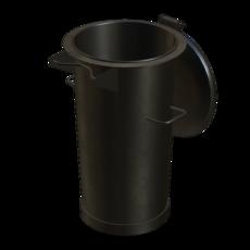 Vorabscheiderbehälter in Stahl verzinkt Fassungsvermögen 50 Liter Artikel 10995 Ruwac