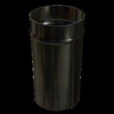 Vorabscheiderbehälter aus Edelstahl Fassungsvermögen 70 Liter Artikel 10859 Ruwac