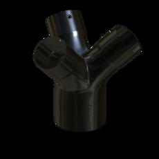 Gabelstueck aus Stahl verzinkt 100mm StaubEx Artikel 12293 Ruwac