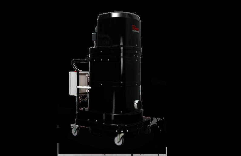 Ruwac Industriesauger DS2 mit Drehstromantrieb für den StaubEx-Bereich