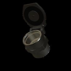 Klappdeckel aus Aluminium 70mm StaubEx GasEx Artikel 10679 Ruwac