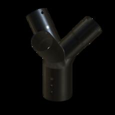 Gabelstueck aus Stahl verzinkt 70mm StaubEx Artikel 11007 Ruwac