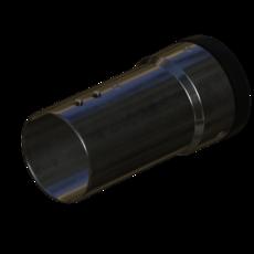 Absaugarm Uebergang aus Edelstahl 70mm StaubEx GasEx Artikel 58926 Ruwac