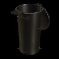 Vorabscheiderbehälter aus Stahl verzinkt Fassungsvermögen 110 Liter Artikel 10959 Ruwac