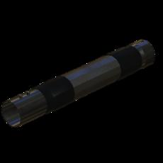 Schlauch aus Metall verzinkt 70mm StaubEx Artikel 24798 Ruwac