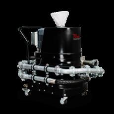Ruwac Industriesauger DS1220 mit Drehstromantrieb und Funkenfalle im StaubEx-Bereich.