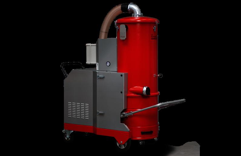 Ruwac Industriesauger DA5112 mit Drehstromantrieb für den StaubEx-Bereich.