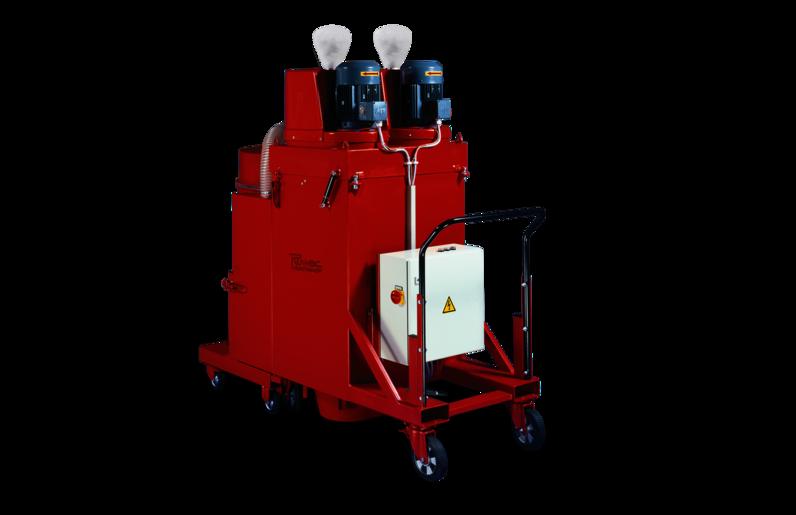 Ruwac Industriesauger DS4 mit Drehstromantrieb