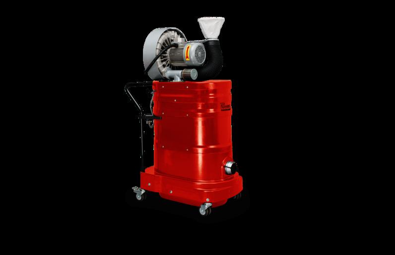 Ruwac Industriesauger DA1 mit Drehstromantrieb direkt