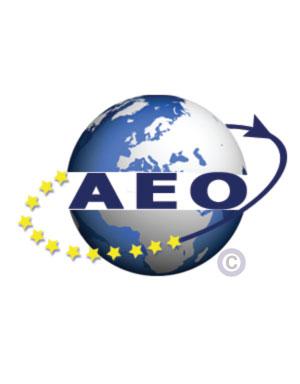 Zertifikat AEO Authorized Economic Operator oder zugelassene Wirtschaftsbeteiligter